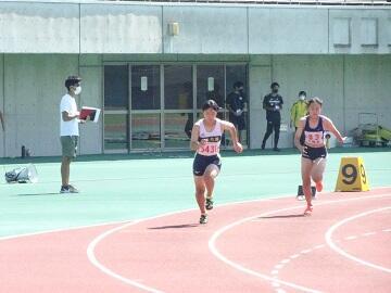 小川 200m 予選